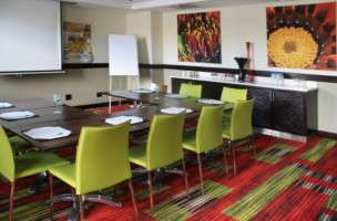 Boardroom at StayEasy Lusaka